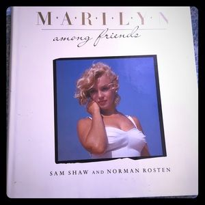 Marilyn Among Friends hardcover